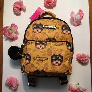 Betsey Johnson Yorkie Backpack